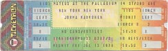 1979-07-13 Late Ticket
