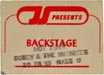 1983-10-28 Backstage Pass