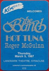 1987-03-05 Backstage Pass