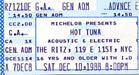 1988-12-10 Early Ticket
