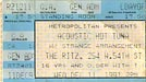 1991-12-11 Day of Show Ticket