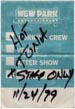 1999-11-24 Backstage Pass
