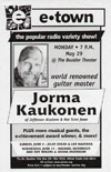 2000-05-29 Newspaper ad