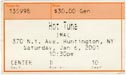2001-01-06 Ticket Late Show