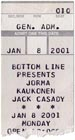 2001-01-08 Ticket Late Show